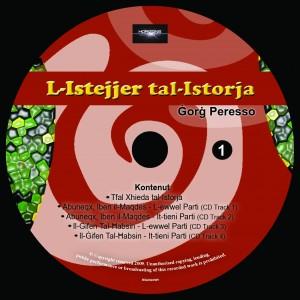 L-Istejjer tal-Istorja - CD