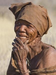 Botswana-San bushmen