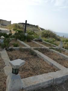 Oqbra fiċ-ċimiterju ta' Wied Għammieq