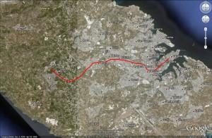 Google Earth - The Malta Railway