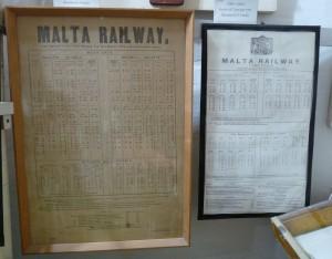 It-time-tables tal-Malta Railway