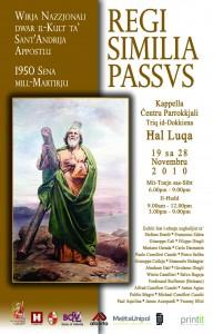 Il-poster tal-wirja bil-pittura ta' G Cali