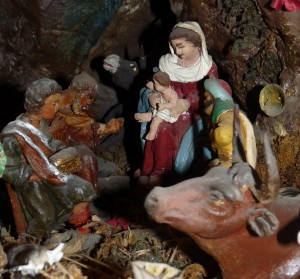 Nativity Scene - Close up