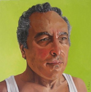 13  Paul 2008 - Oils on canvas - Honourable Meniton 2008 - 60x60cm SOLD