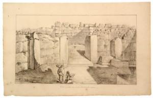 Illustrazzjoni tal-Ġgantija tal-1830s
