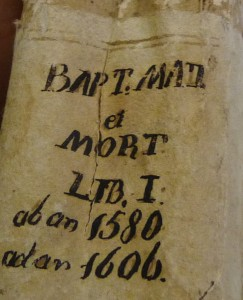 L-ewwel manuskritt 1580 -1606