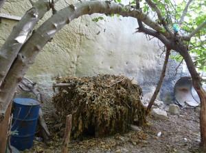 Waħda mill-bunkers li bnew it-tfal