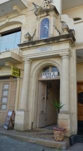 L-entratura għall-Għar Ta' Xerri