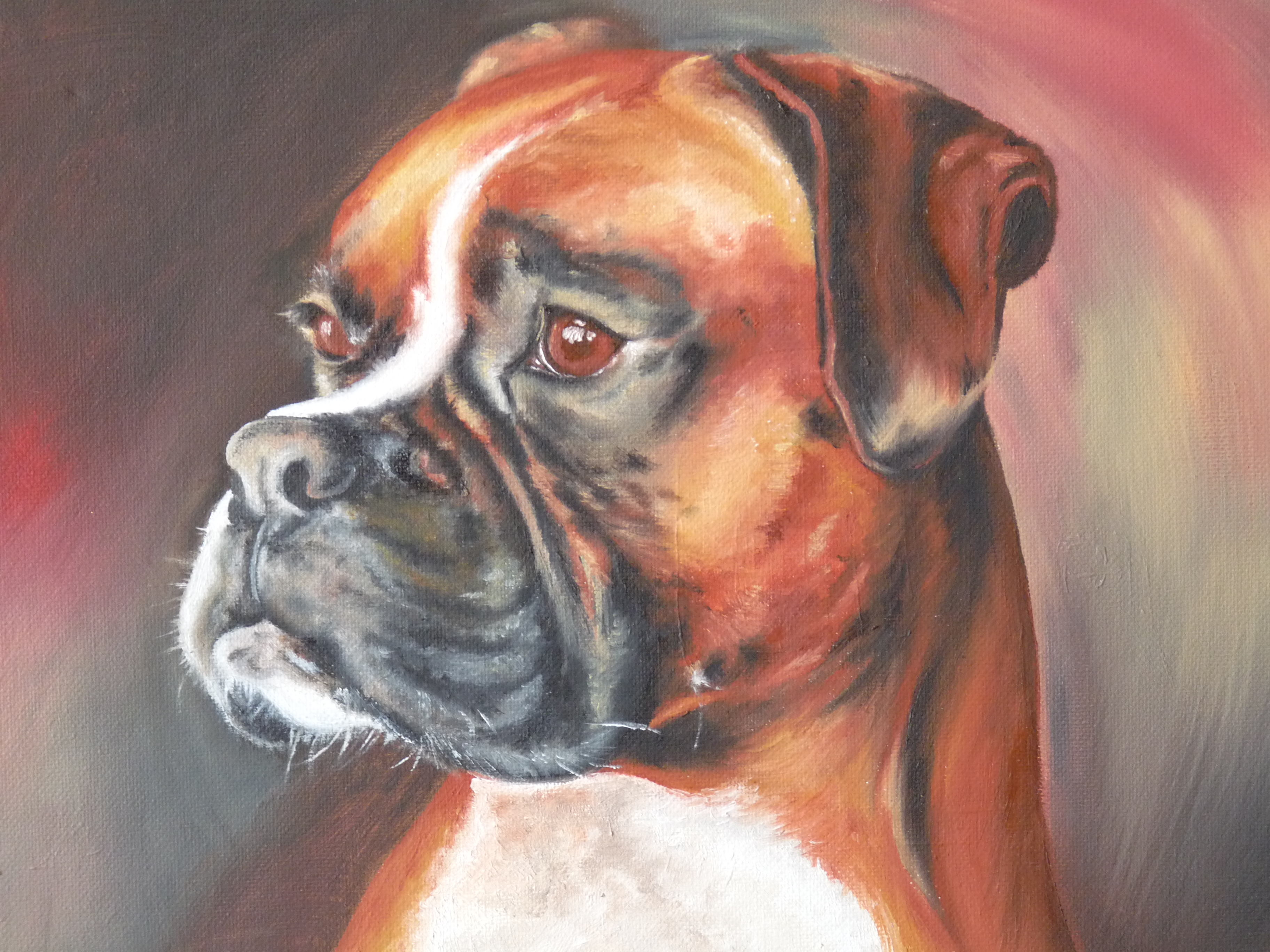 Part of the family fiona vella for Painting of your dog