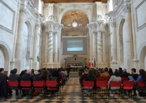 Waqt is-seminars fl-Auditorium San Vincenzo Ferreri, Ragusa Ibla