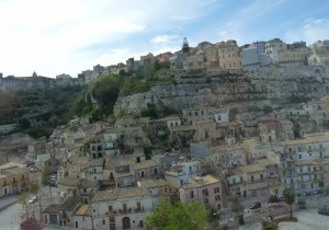 A scene of Ragusa Ibla