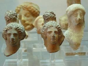 Artefacts in the Regional Museum of Camarina (2)