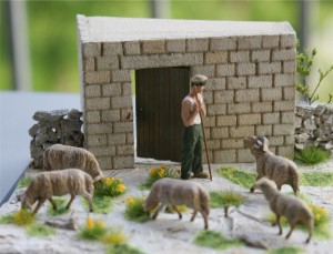 Diorama - the maltese sheperd scale 1-48 (Photo - Wolfgang Friedrich)