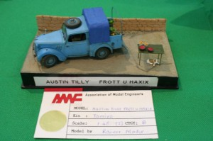 Diorama - van with vegetables and fruit (Photo taken by Carl Mifsud)
