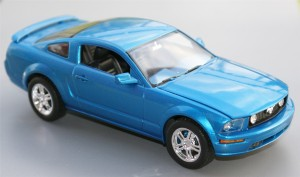 Ford Mustang 2005 scale 1-25 (Photo - Wolfgang Friedrich)