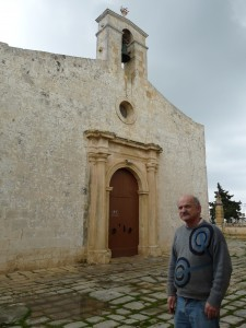 Grezzju Vella in front of St Gregory's church