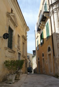 Narrow alleys - Ragusa Ibla