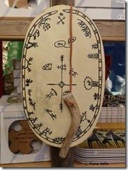 A souvenir shaman drum