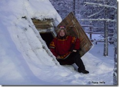 Semen in a Sami traditional house