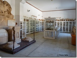 The old-fashioned Whitaker museum on the island of Motya
