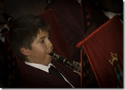 Isaac Scicluna playing for the first time with Zejtun Band Club