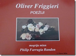Oliver Friggieri - Poeziji (CD)