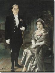 Il-genituri tal-Markiz - Il-Baruni Nicholas u l-Baronessa Phyllis De Piro