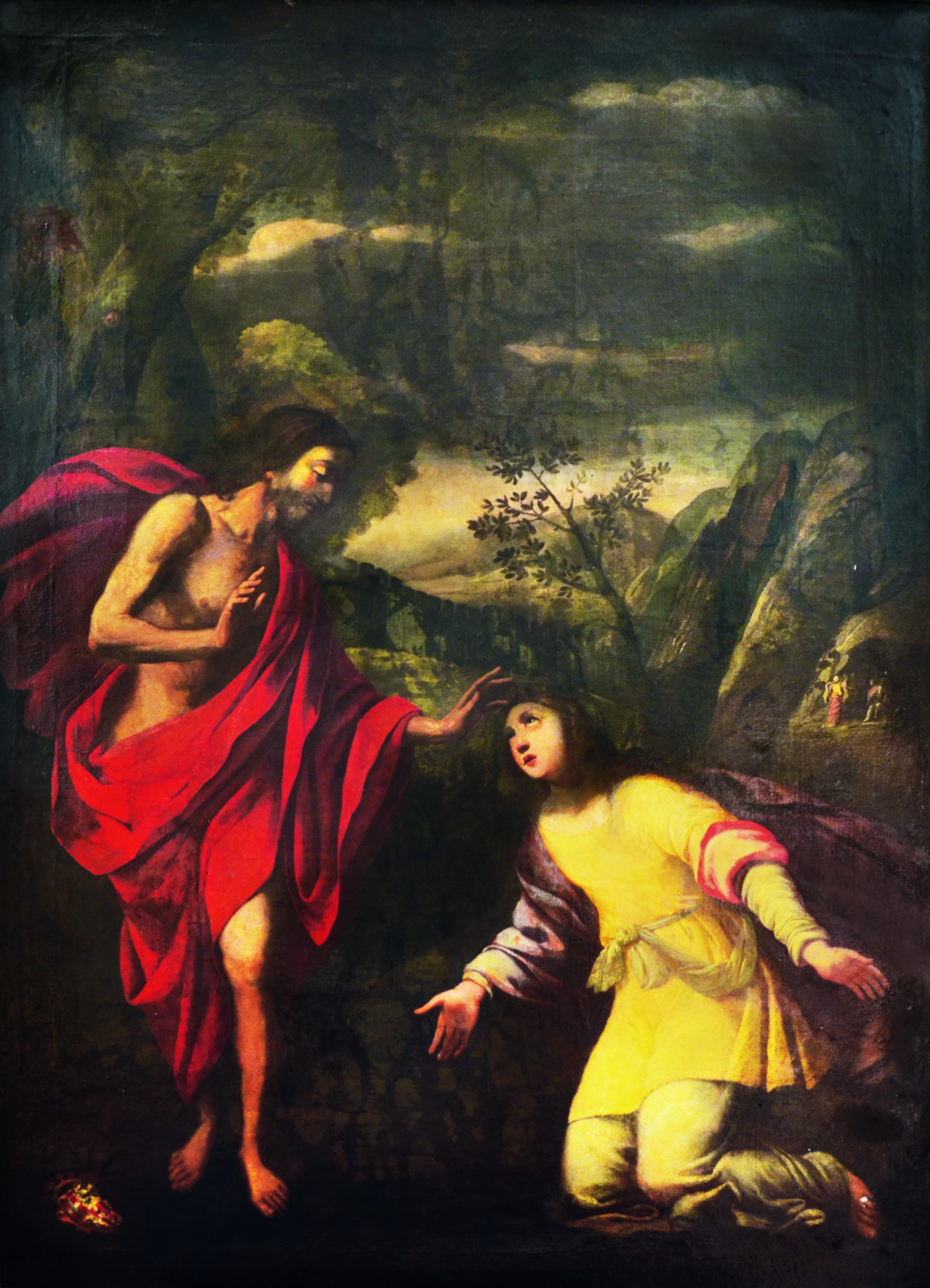 Pittura - Noli Me Tangere - Palazz San Anton, Attard.jpg