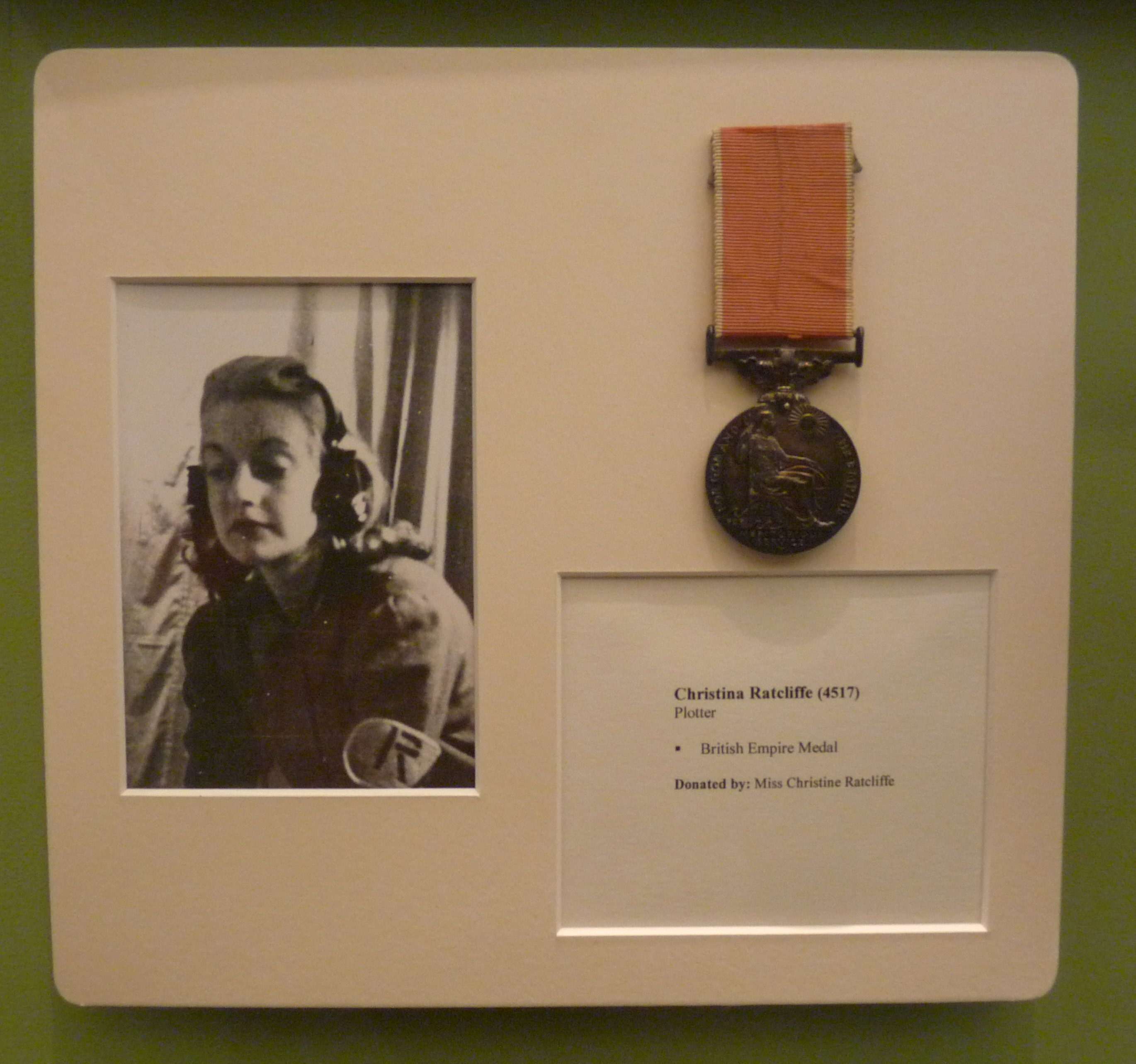 Christina Ratcliffe's British Empire Medal - 1.JPG