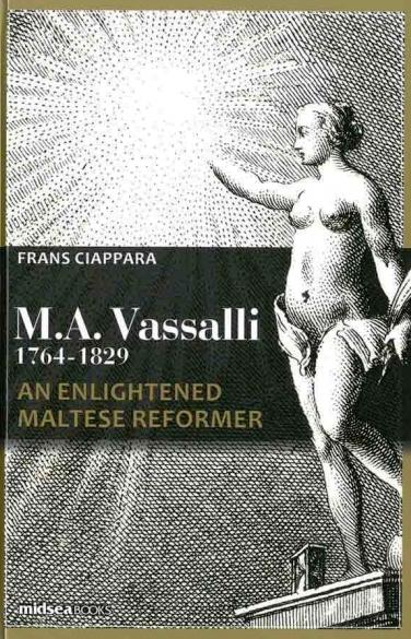 Il-ktieb ta' Prof. Frans Ciappara dwar Mikiel Anton Vassalli.jpg