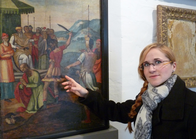 Michelle Galea, Assistenta Kuratrici tal-Muzew Wignacourt.JPG