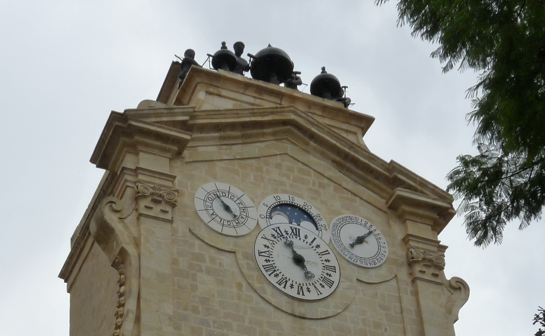 L-arlogg ta' Pinto li jinsab fil-Palazz tal-President, il-Belt Valletta.JPG