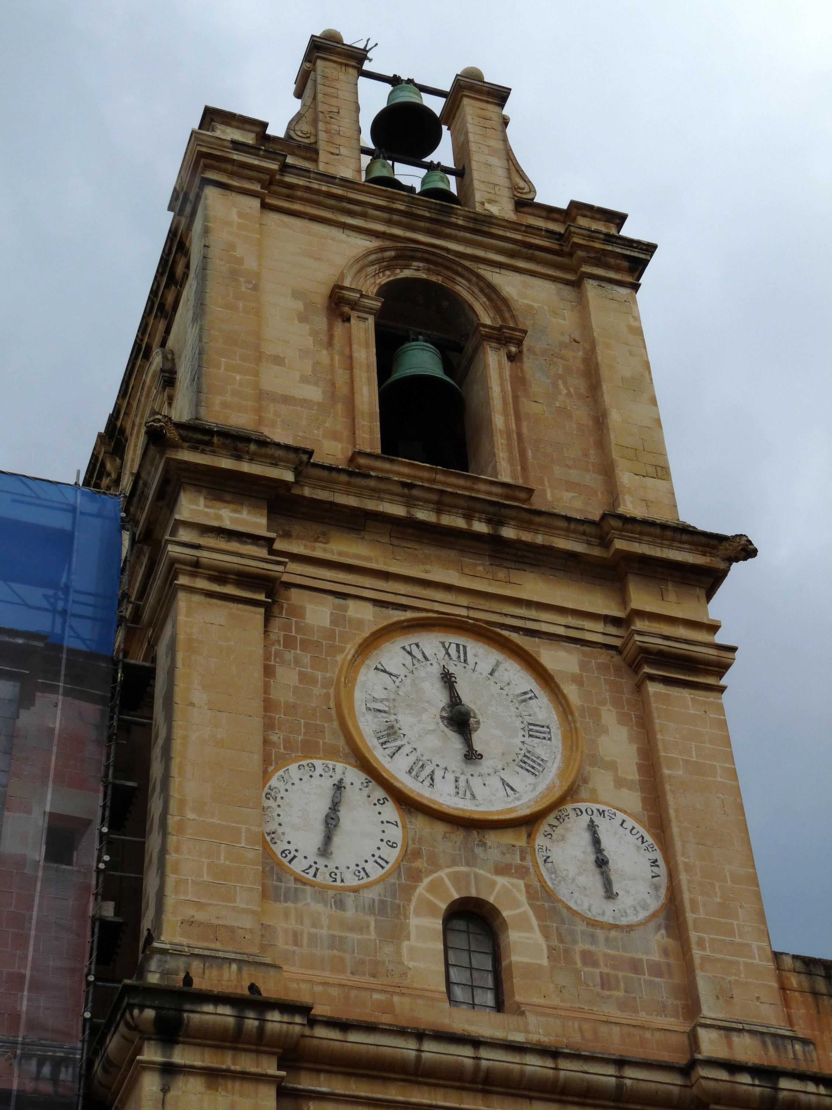 L-arlogg tal-Kon-Kattidral ta' San Gwann, il-Belt Valletta.JPG