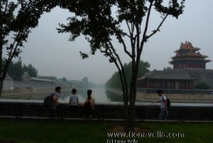 Ancient moat surrounding the Forbidden City