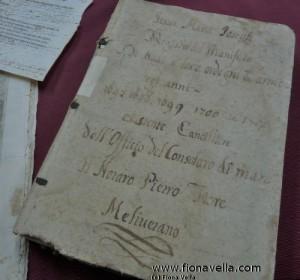 A document from The Consolato del Mare di Malta collection (2)