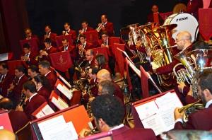Alexander Vella mal-kumplament tal-banda (Ritratt - Zejtun Band Club)