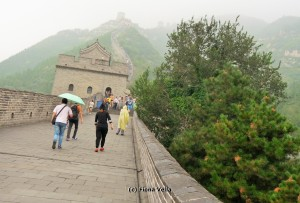 Juyongguan Pass in the mist (Photo - Fiona Vella)