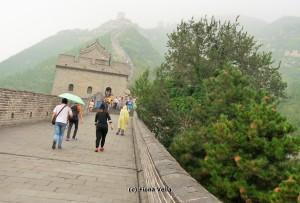 Juyongguan Pass in the mist (Photo - Fiona Vella)