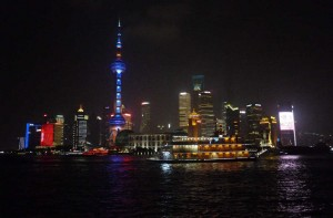 The modern area of the Bund1 (Photo - Fiona Vella)