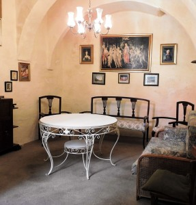 A room in Palazzino Sapienti (Photo - Fiona Vella)