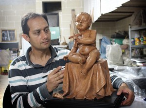 sculptor-chris-ebejer-in-his-studio-in-mqabba-photo-marthese-ebejer