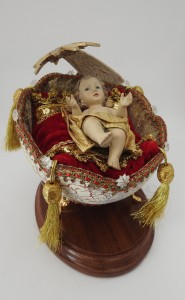 Baby Jesus in eggshell - Photo by Fiona Vella