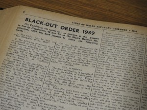 Black-Out Order, 1939 (1) (Photo by Fiona Vella)