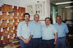 Saviour Busuttil mal-kollegi (it-tieni mil-lemin)