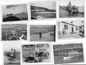A selection of old photos at Asinara (Photo courtesy Gian Piero Silvetti)