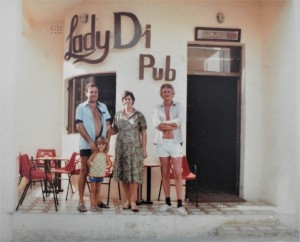 The earlier Lady Di Pub
