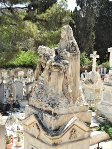 Monuments at the cemetery (Photo - Fiona Vella)