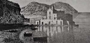 An 1894 reproduction of the church - rd