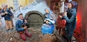 Nativity scene - close up - rd