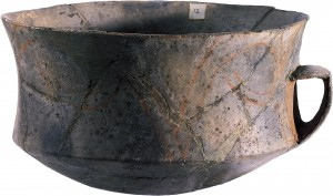Carinated bowl from the North Cave at Ggantija (Copyright - Heritage Malta - Daniel Cilia)